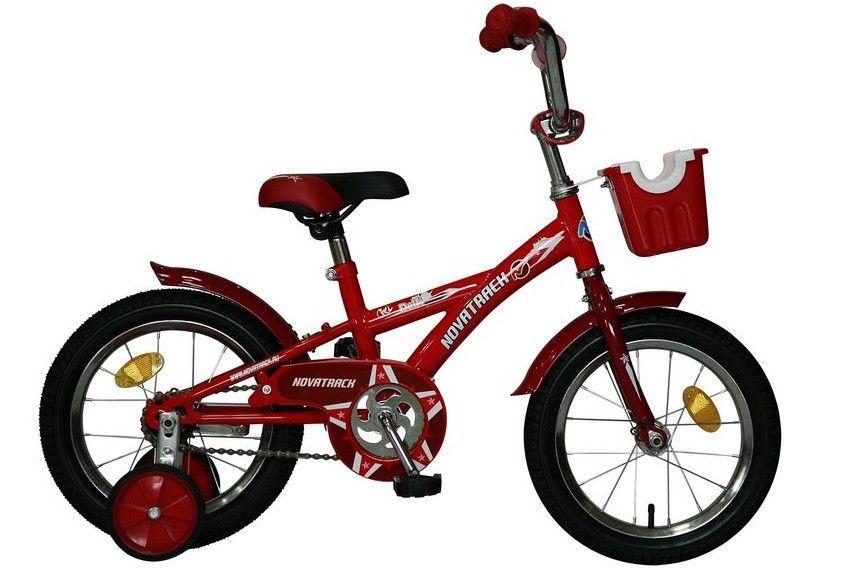 Детский велосипед Novatrack Urban 14 (2016) Red