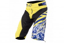 Шорты Alpinestars Gravity Electric Blue/Yellow