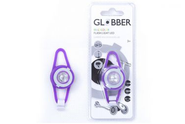 Купить Фонарь Globber Flash Light Led Violet
