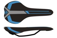 Merida Race black/blue