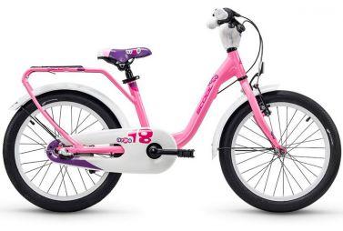 Купить Детский велосипед Scool niXe alloy 18 Розовый (2018)
