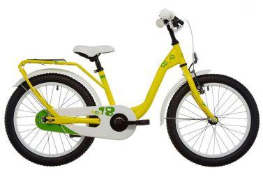 Купить Детский велосипед Scool niXe steel 18 Желтый (2018)