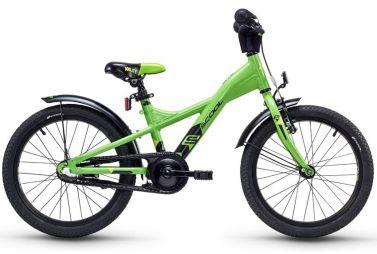 Купить Детский велосипед Scool XXlite alloy 18 3-S Зеленый (2018)