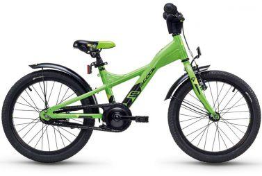 Купить Детский велосипед Scool XXlite alloy 18 Зеленый (2018)