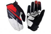 Troy Lee Designs TLD Ace Gloves white/red